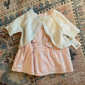 Baby Girl Dress and Sweater